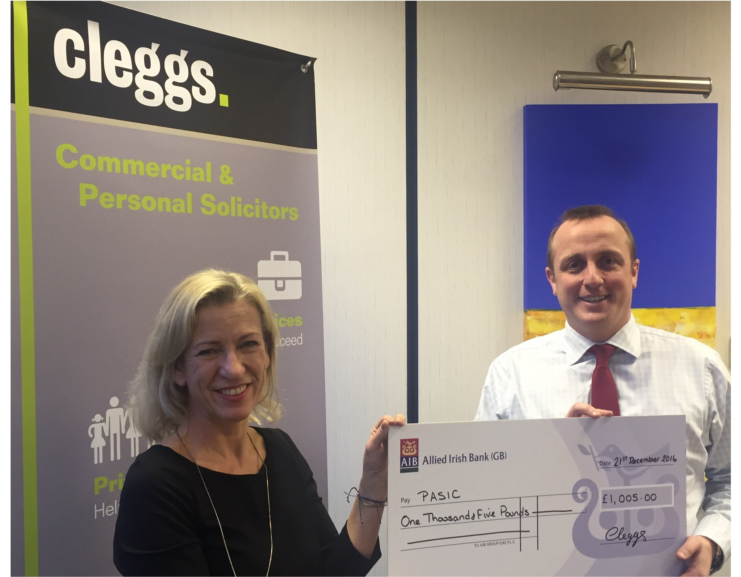 Phil Pheasey raises more than £1,000 for children's charity